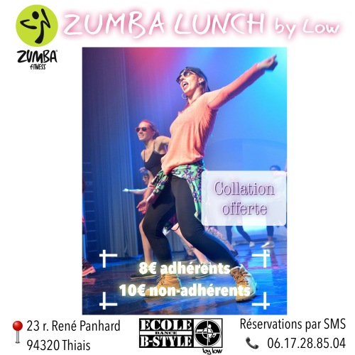 Flyer ZUMBA LUNCH