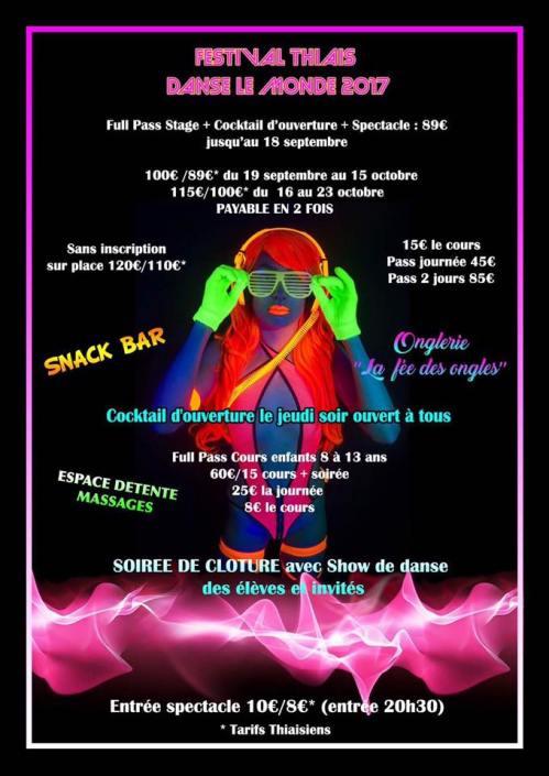 Festival TDLM 2017 - 8e édition (verso)